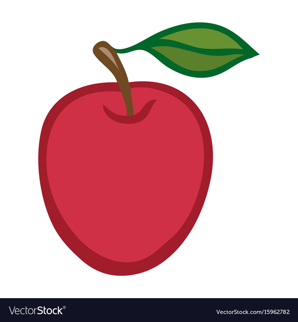 Apple isolated object