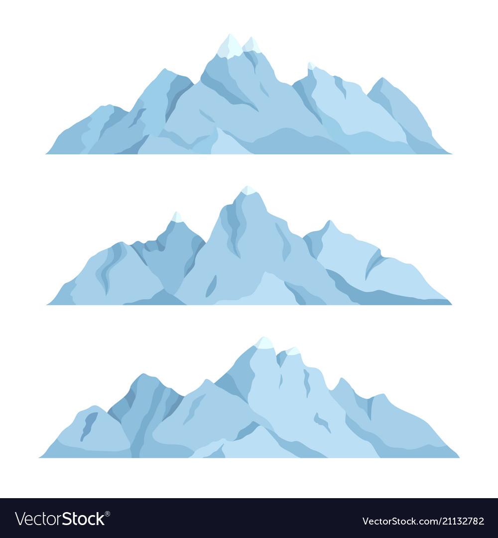 Big mountain set
