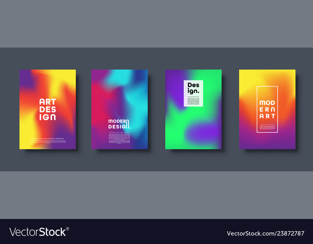 Abstract modern design background colorful neon
