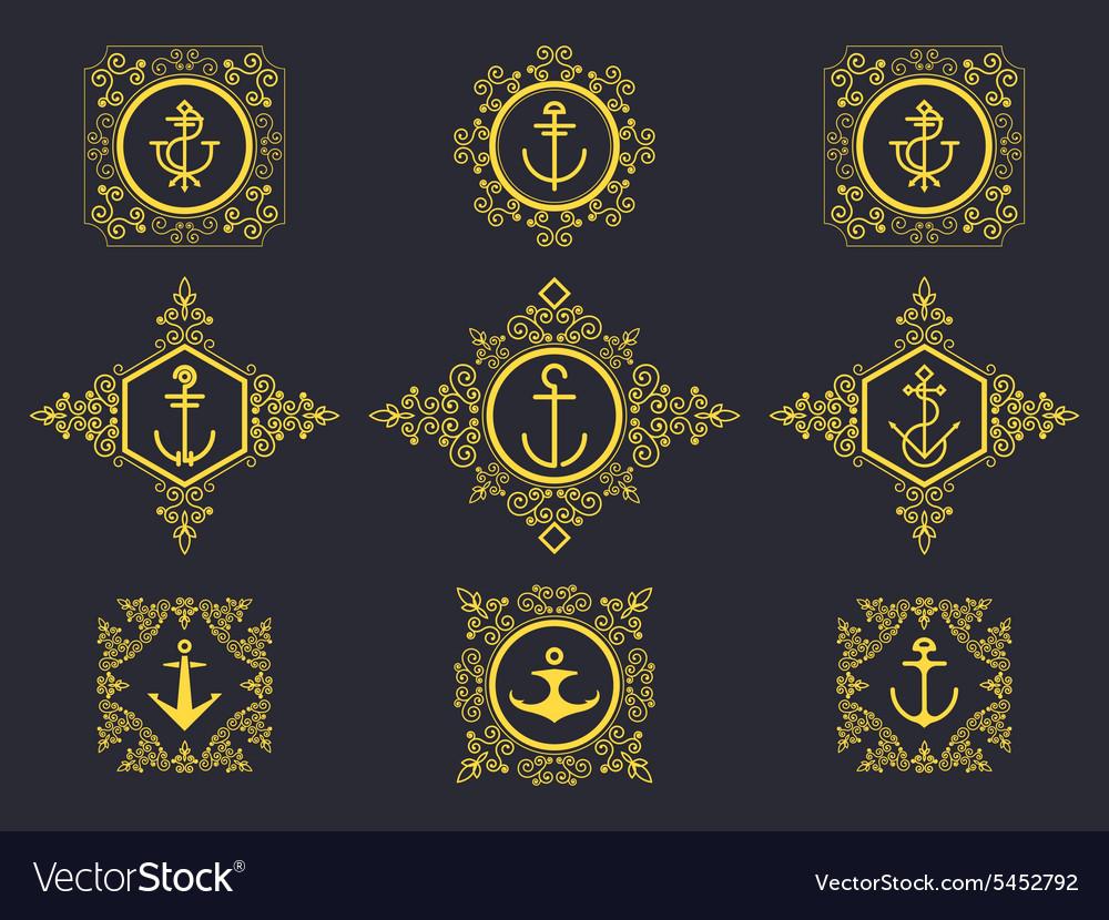 Anchors set luxury