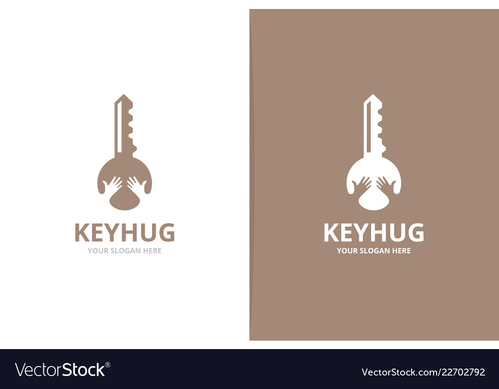 Lock and key logo Illustration Key And Hands Logo Combination Lock And Vector Image Key And Hands Logo Combination Lock And Royalty Free Vector