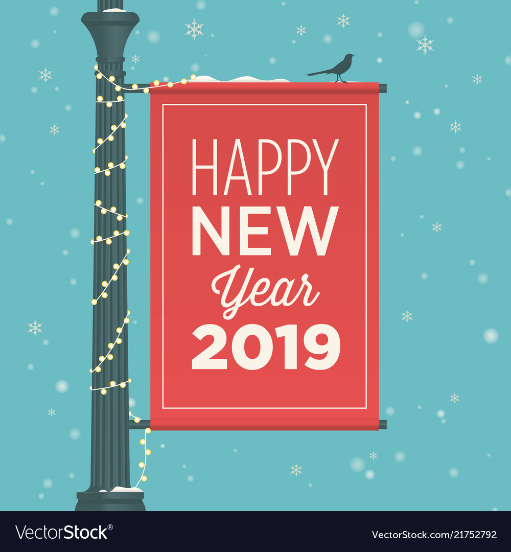 New-year-2019-street-sign-banner