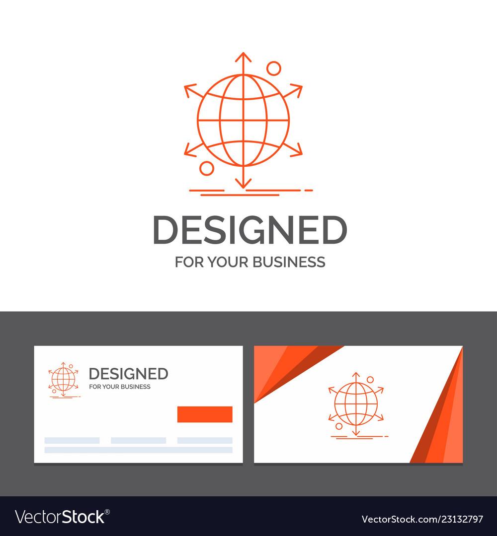 Business logo template for business international