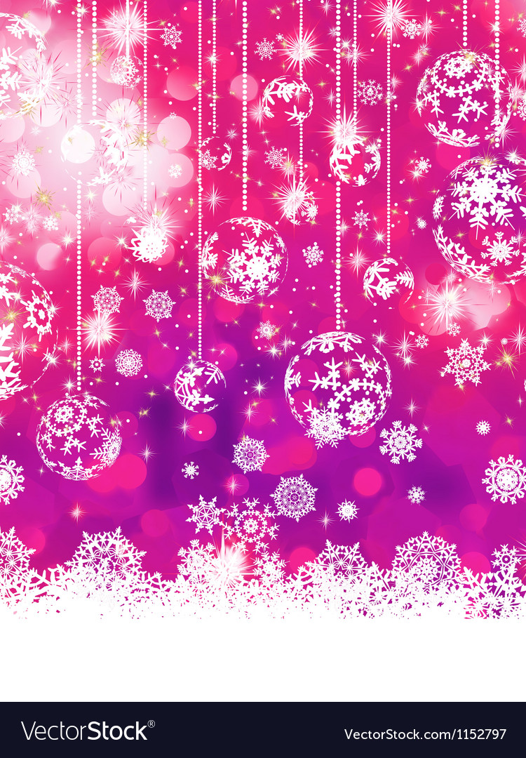 purple christmas background eps 8 royalty free vector image