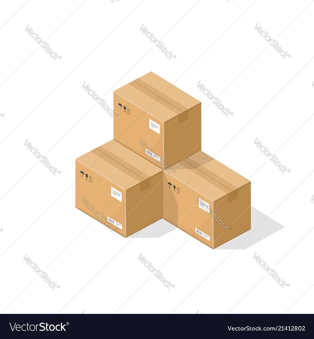 Parcel boxes warehouse parts