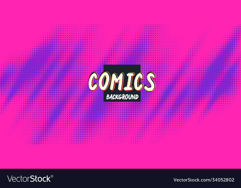 Retro background with a comics style abstract