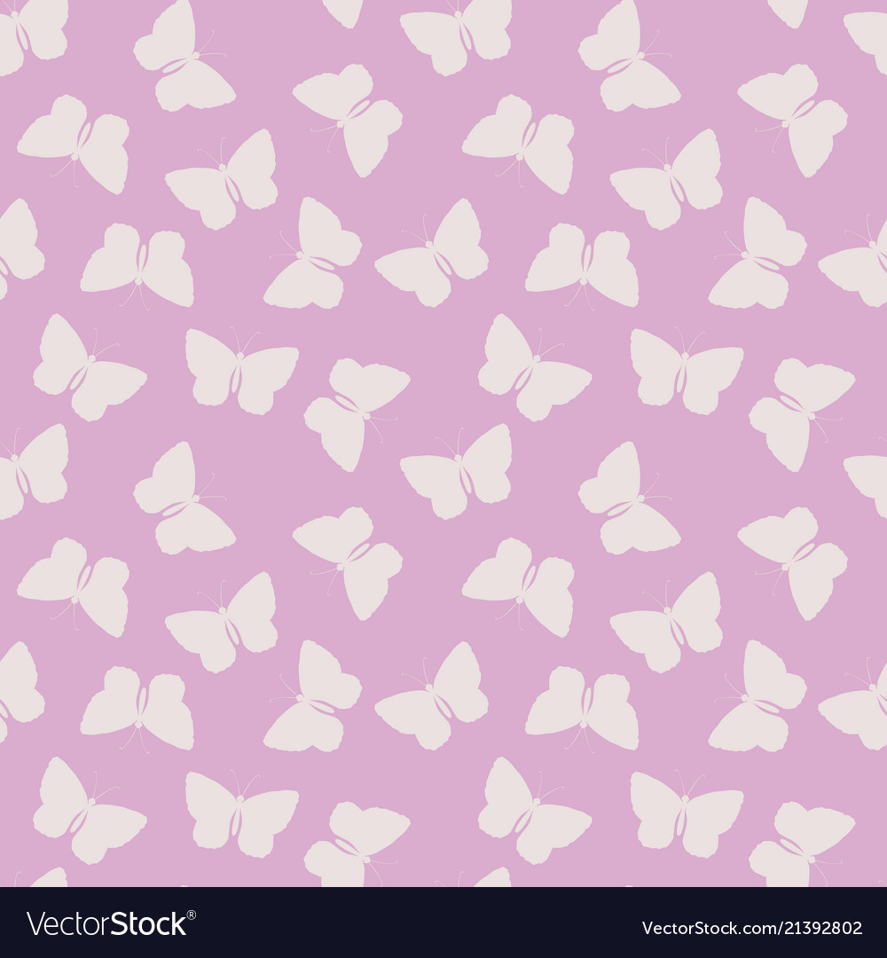 Seamless pattern with blue watercolor butterfly
