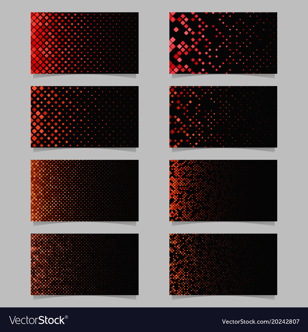 Abstract diagonal square pattern card template
