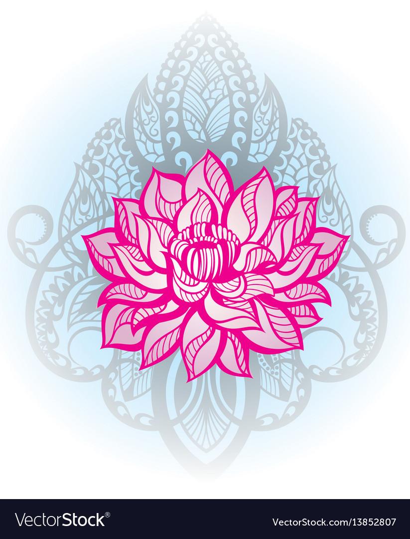 Oriental style vector image