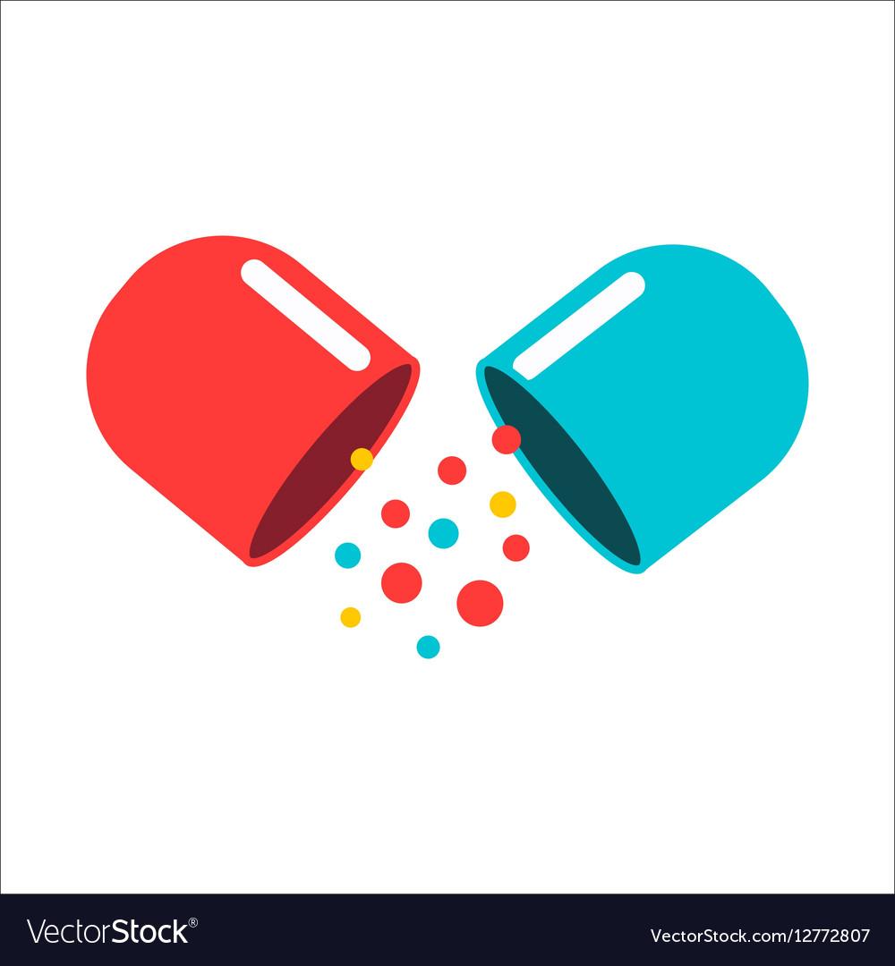 tablet pill royalty free vector image vectorstock rh vectorstock com pill factory morpeth pill vector image