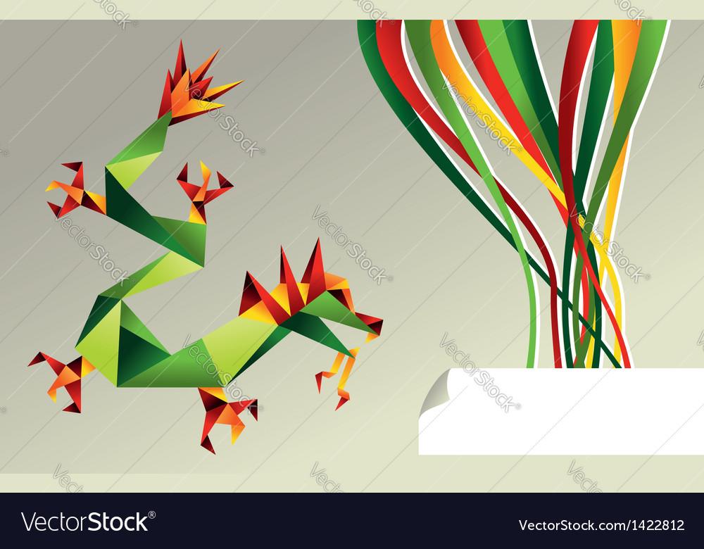 Western dragon Design by Nhan Van Son Fold by me Tissue foil ... | 780x1000