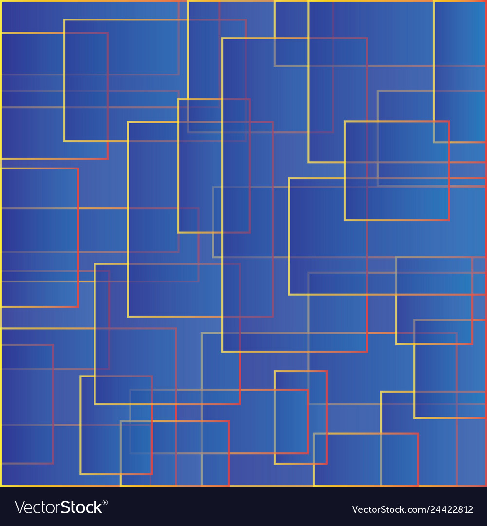 Blue backdrop with squares color abstract pattern