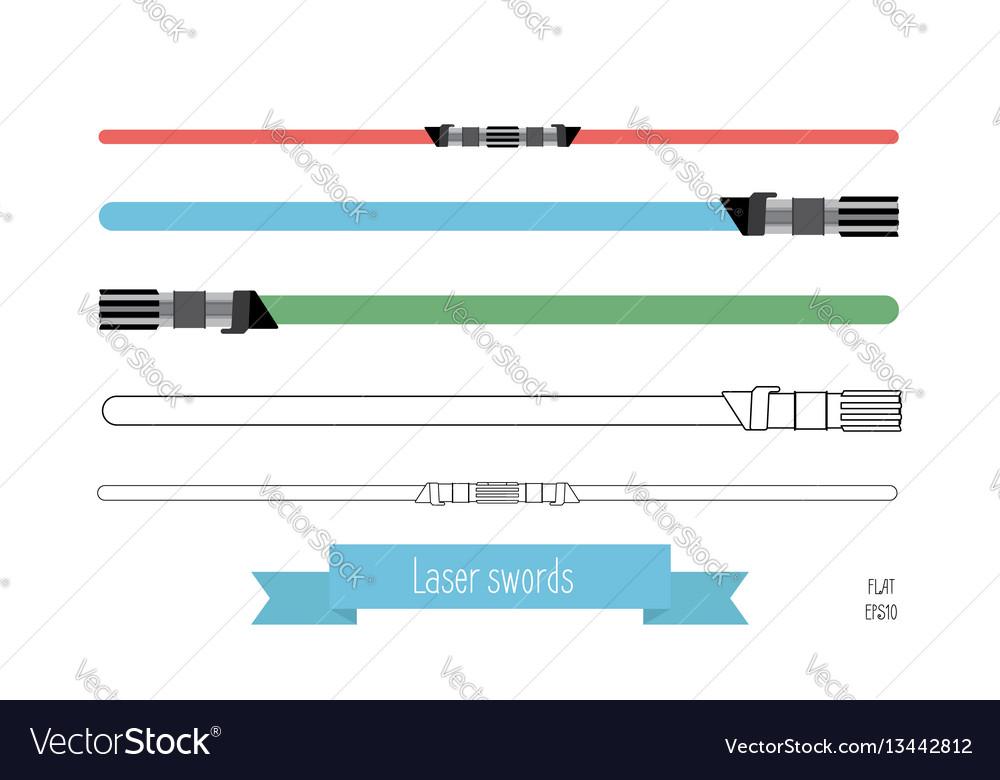 The flat swords