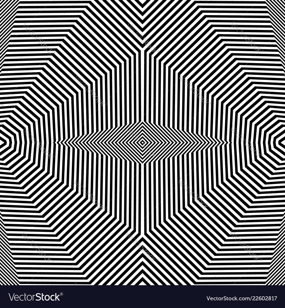 Abstract geometric lines pattern symmetric