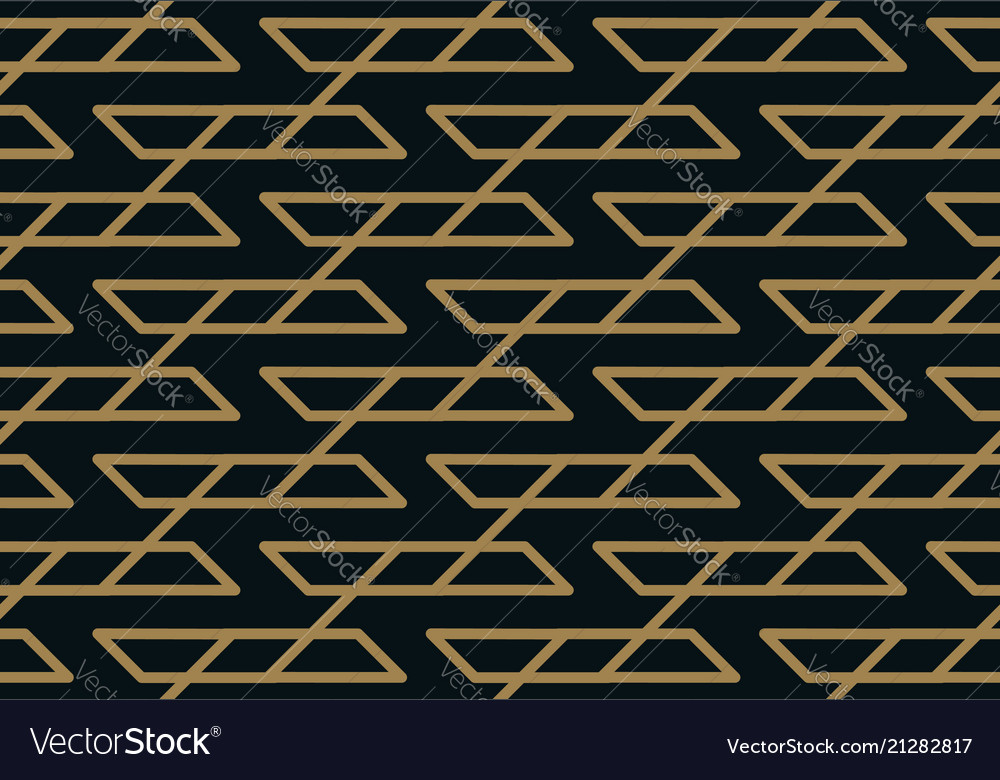 Abstract geometric pattern with lines seamless