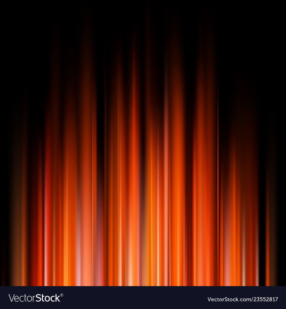 Abstract orange lights on a dark background eps