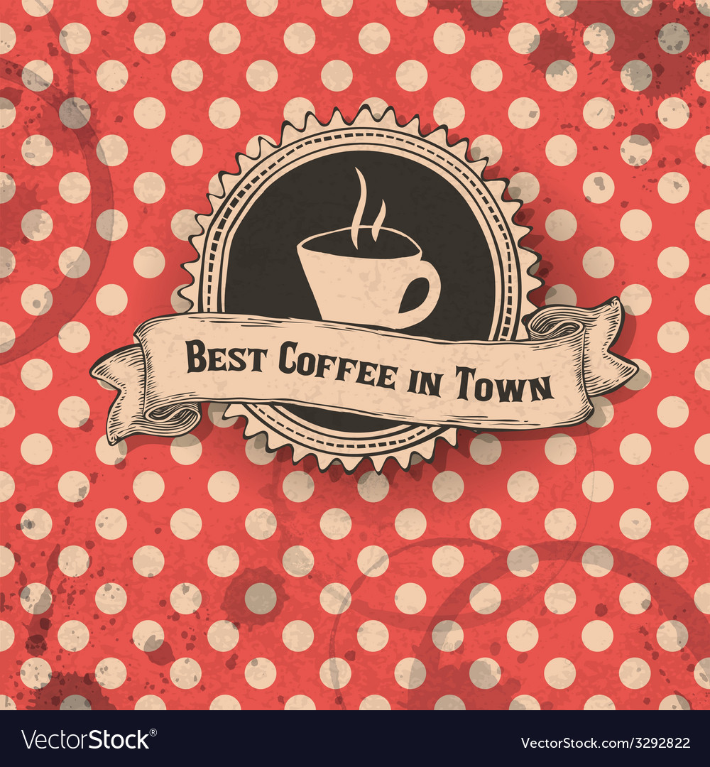 Best coffee in town card