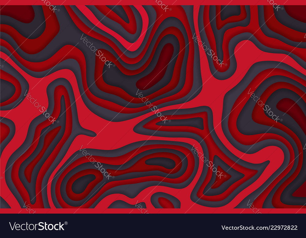 Papercut multi layers color background