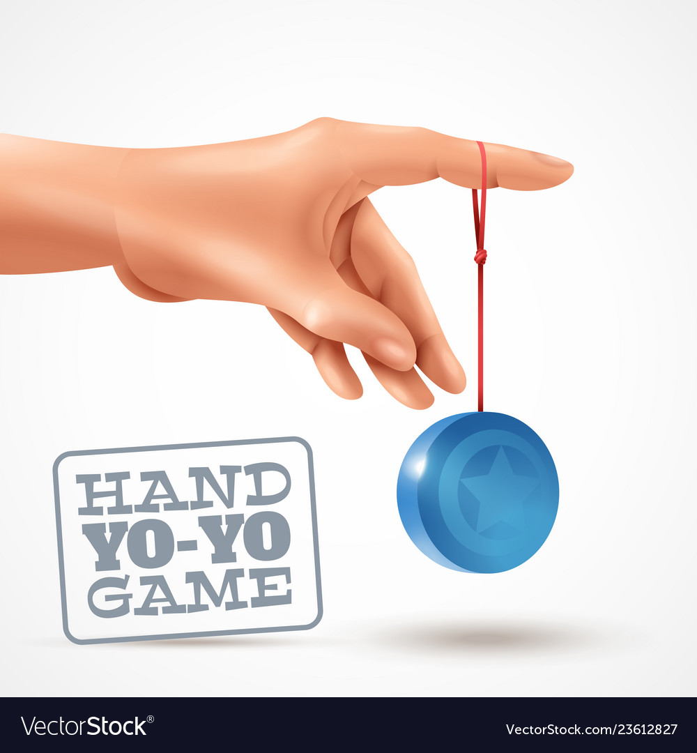 Hand Yoyo Game Background Royalty Free Vector Image If you have any trouble with a file, please contact me and i'll get. vectorstock