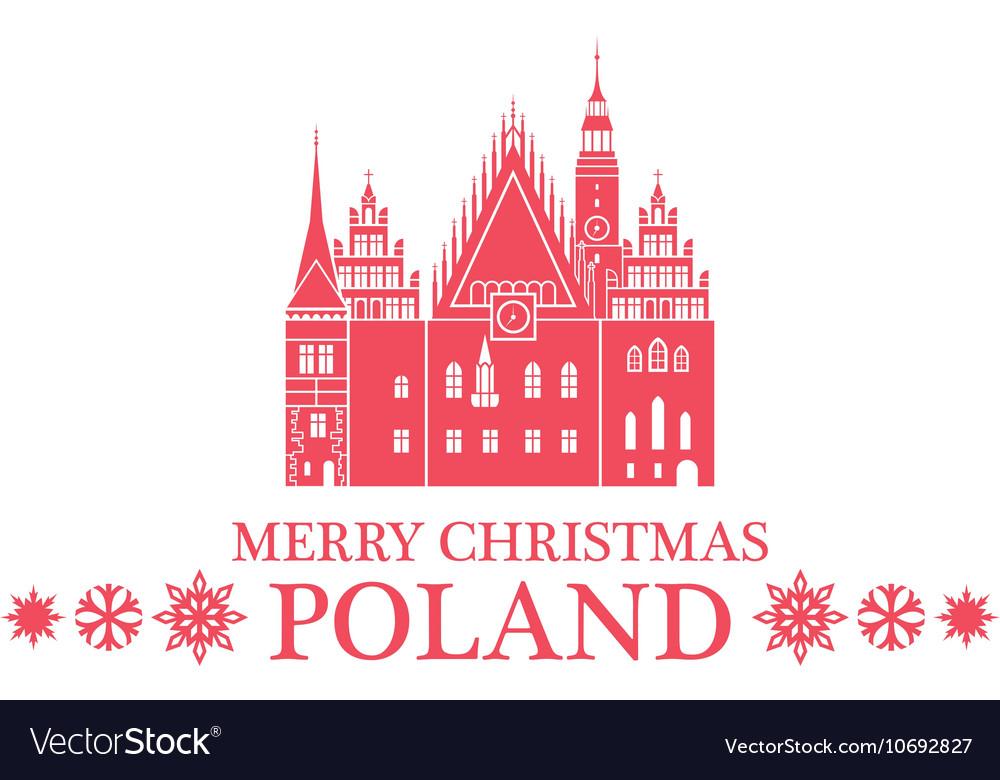 Merry Christmas In Polish.Merry Christmas Poland