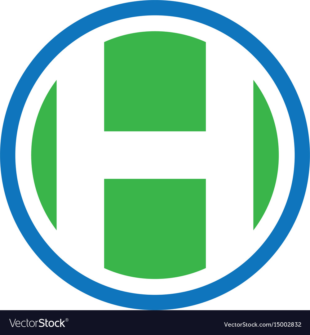 Circle h business finance logo image