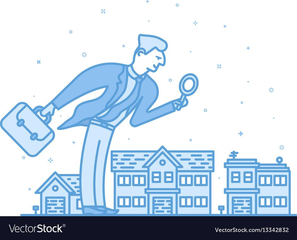 Investor businessman in