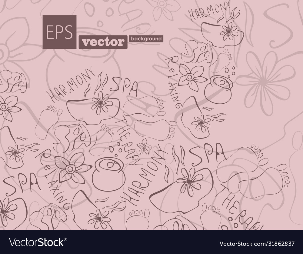 Abstract background with composition made