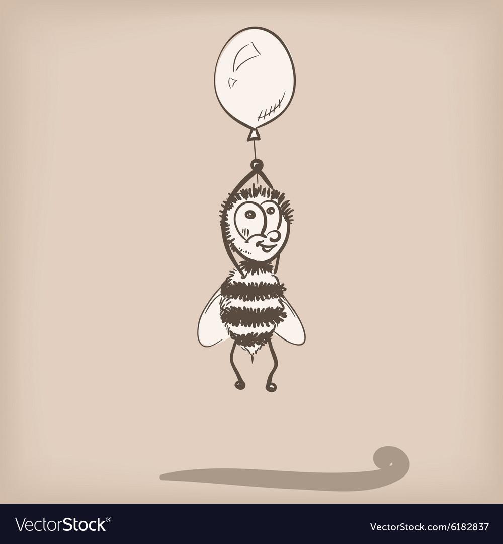 Bee doodle