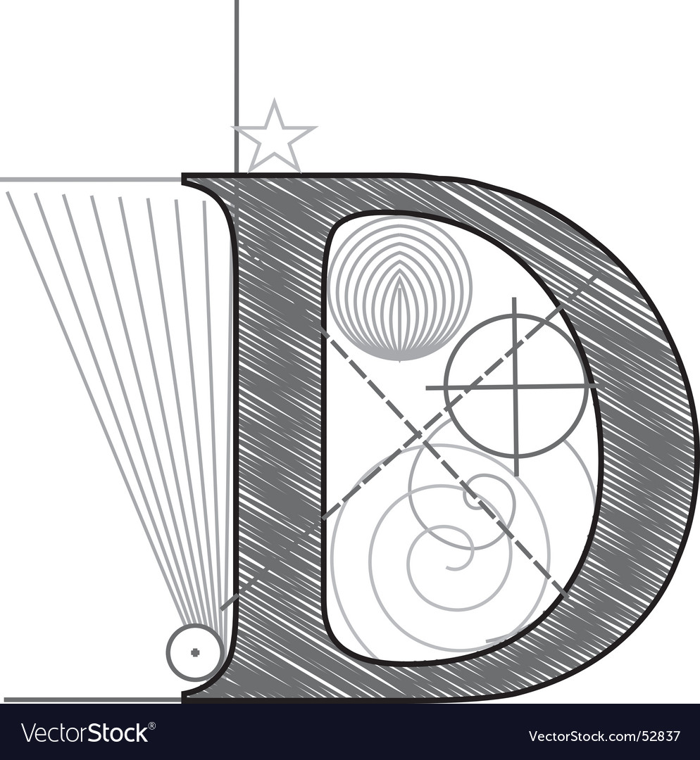 D vector image