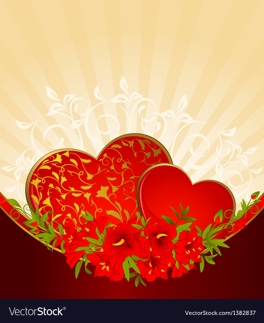 Loveheart background