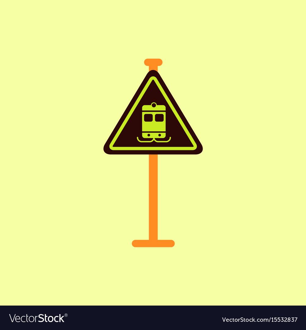 Tram traffic sign