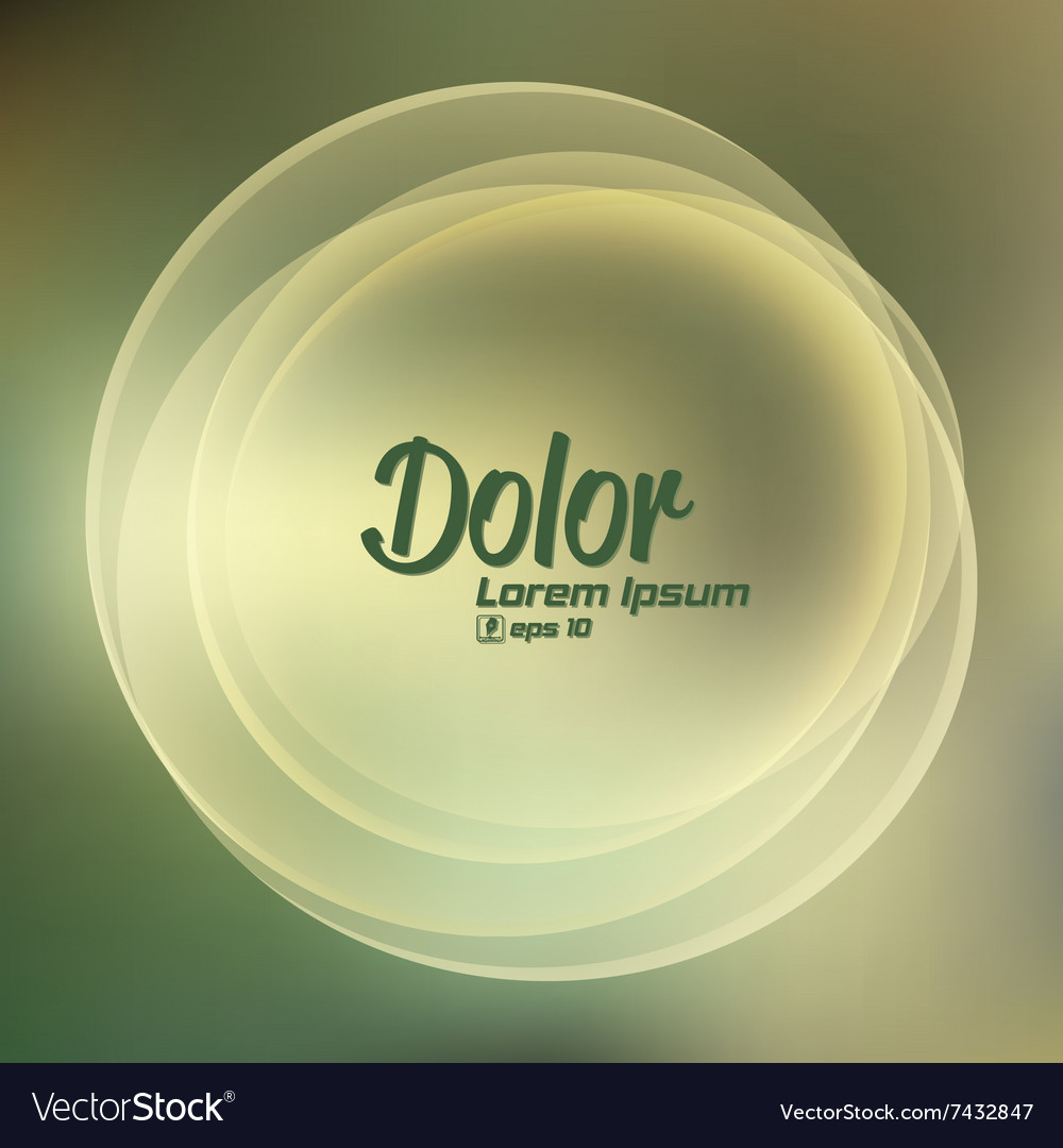 Abstract smooth light circle background
