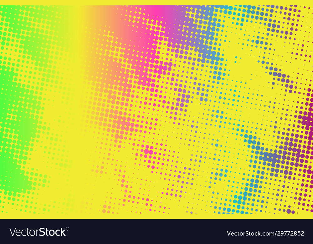 Color halftone background