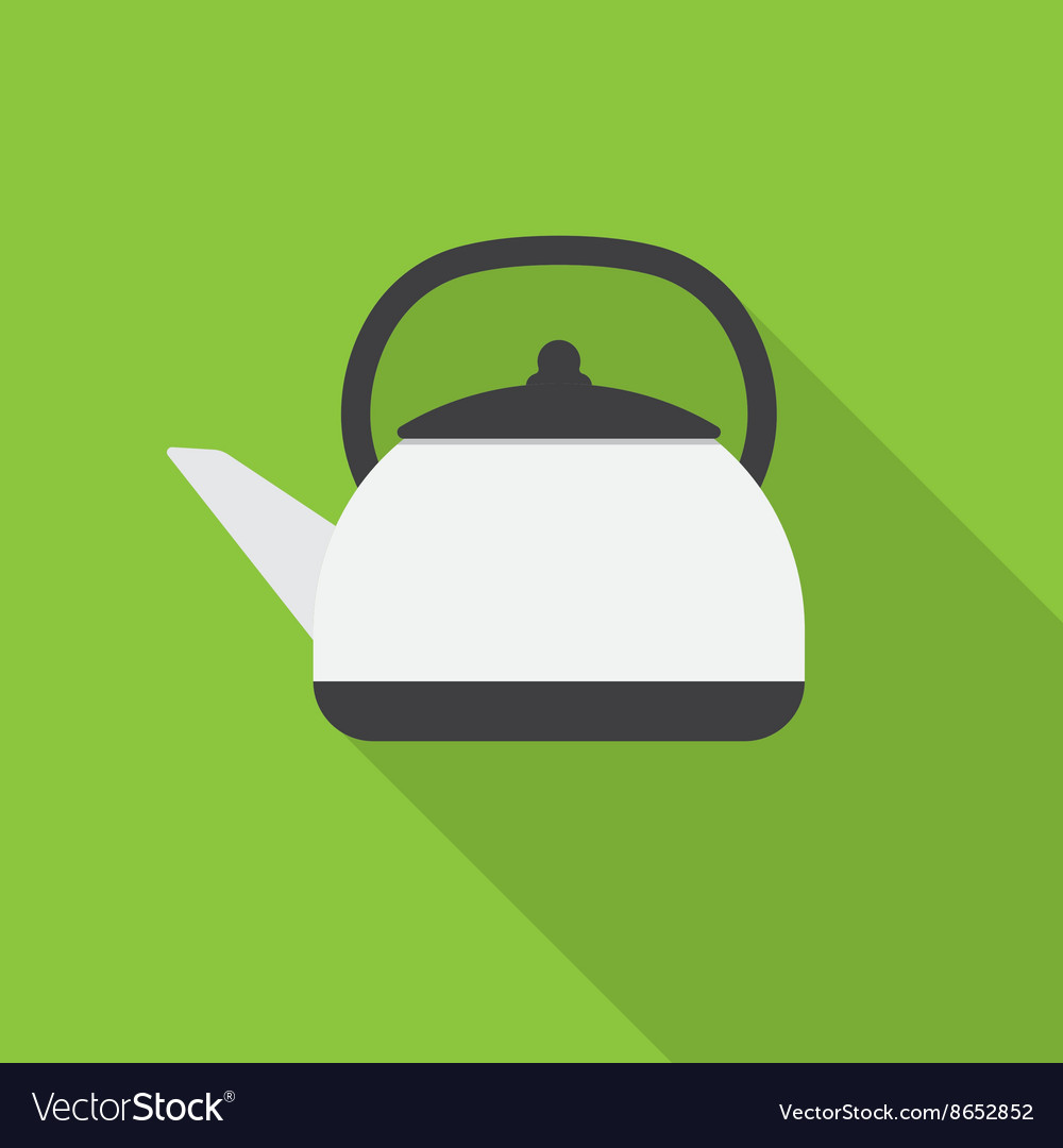 Kettle icon vector image