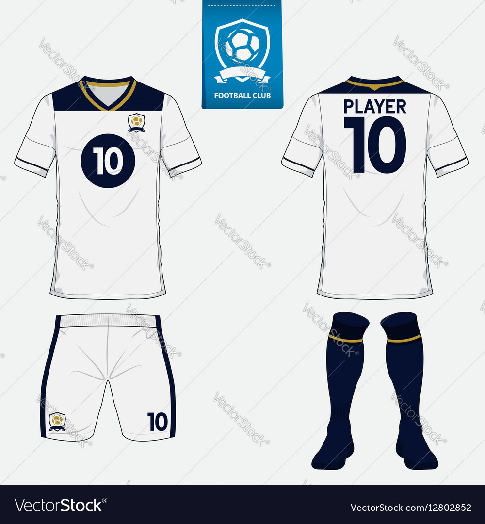 Set of soccer kit or football jersey template Vector Image 30b80f0e4