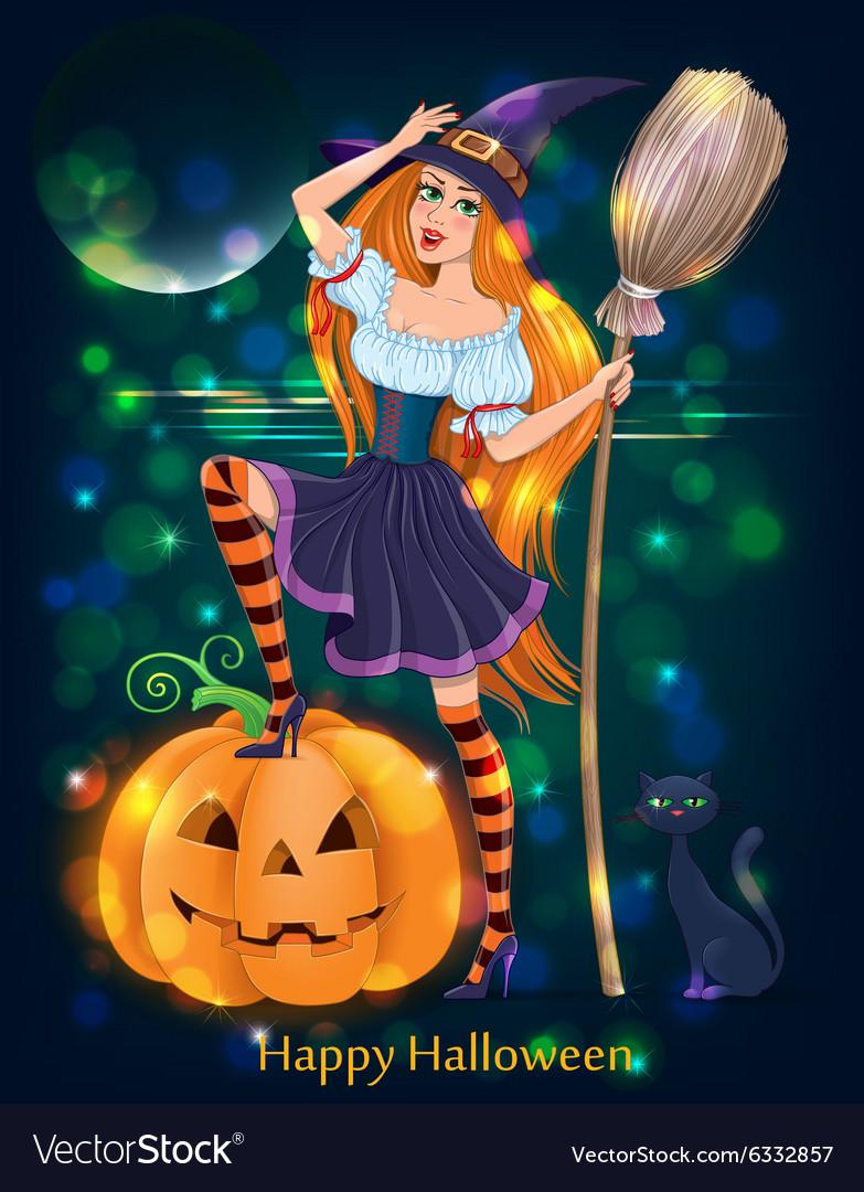 Halloween girl night