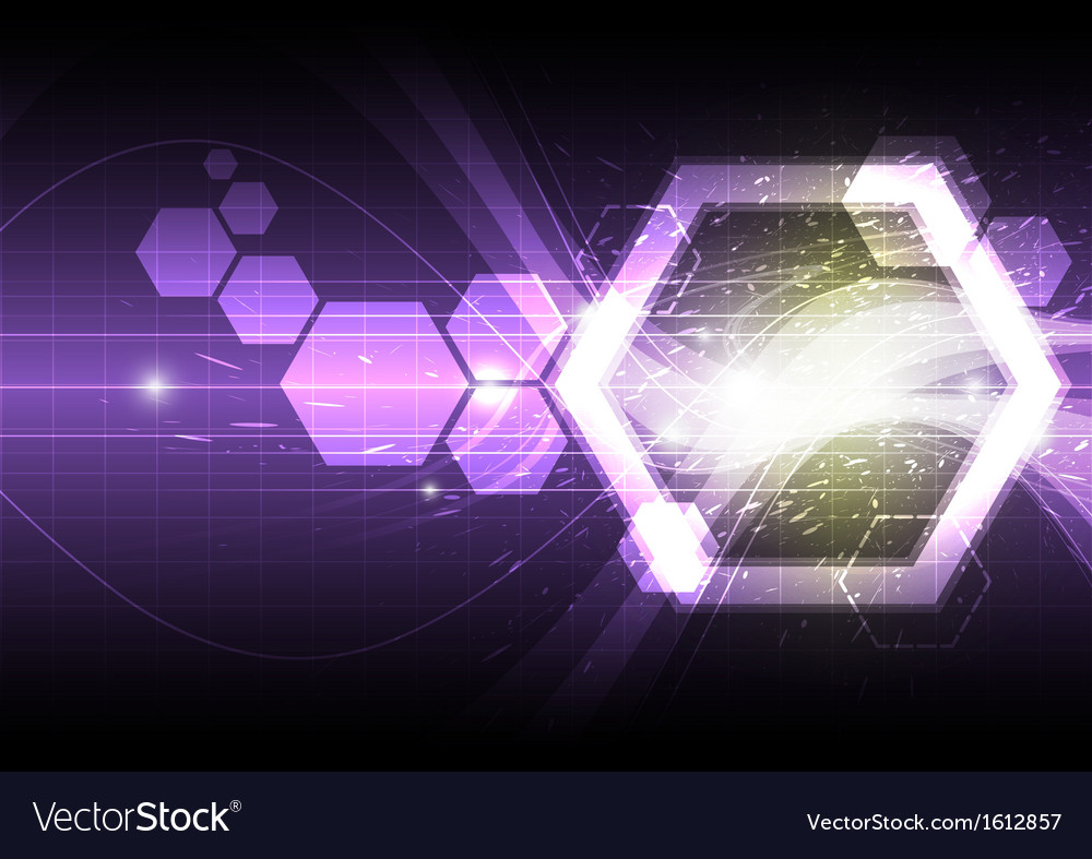 Polygon shape abstract background