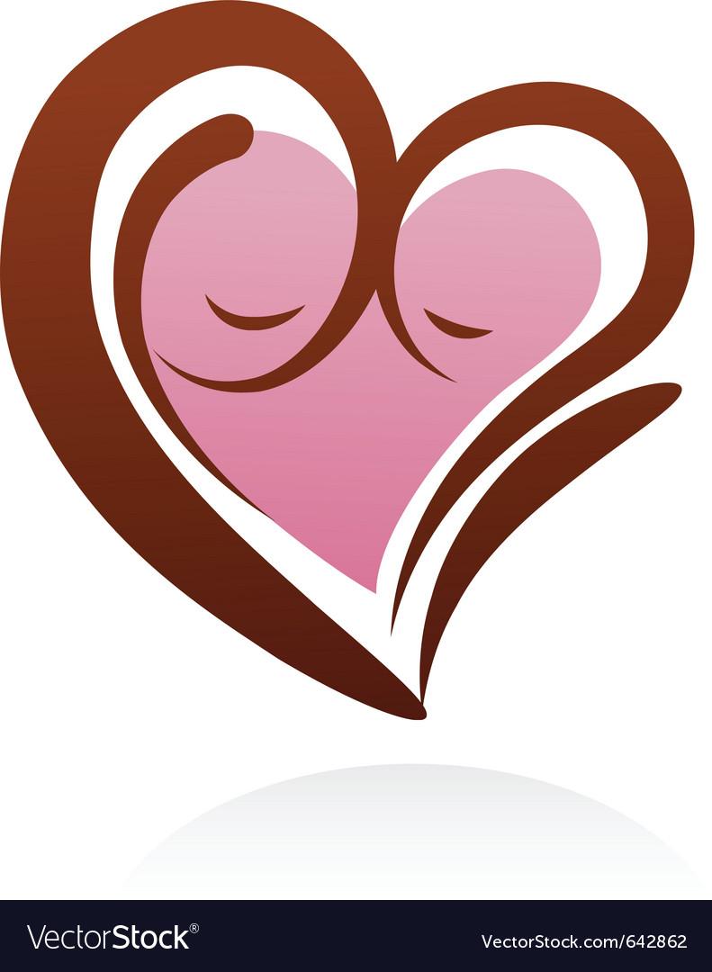 Motherhood Icon And Symbol Royalty Free Vector Image