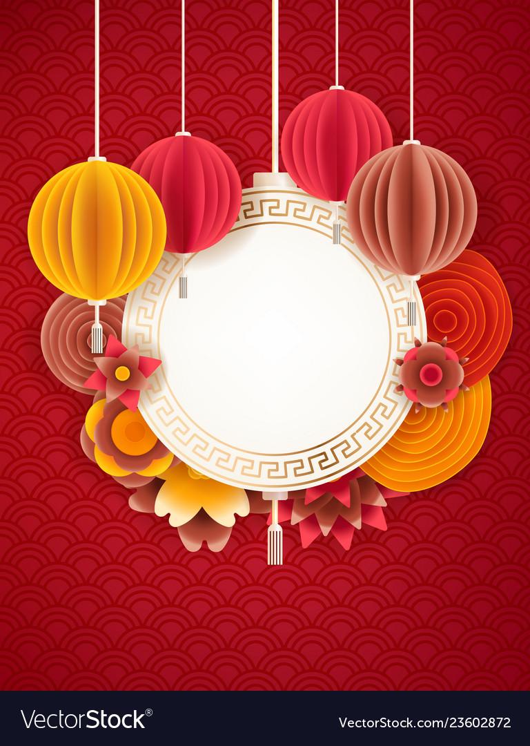 Lunar new year design background happy pig year