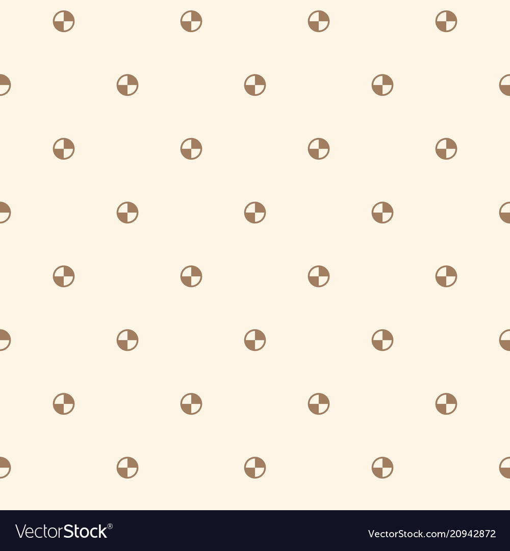 Seamless simple pattern with circles