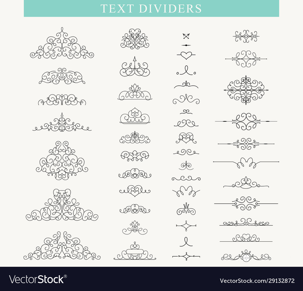 Set decorative elements