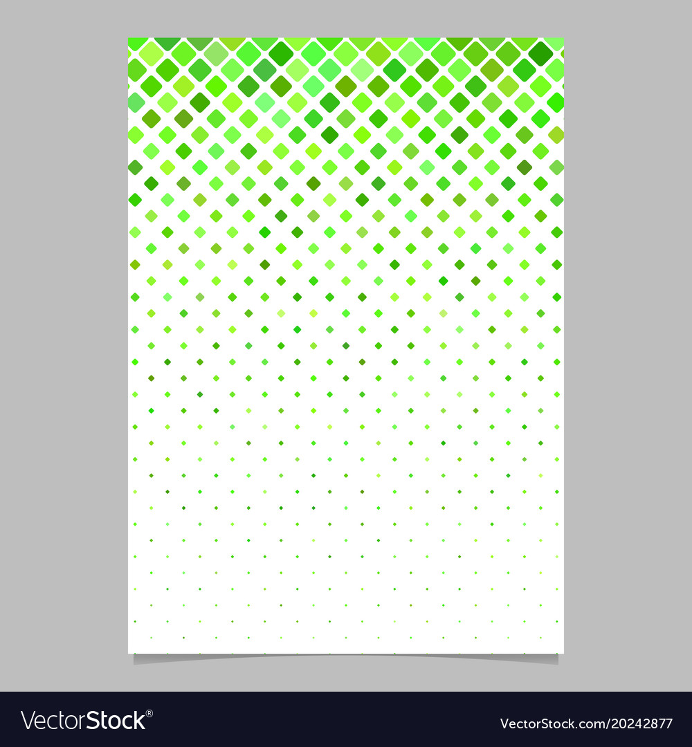 Abstract square pattern brochure template