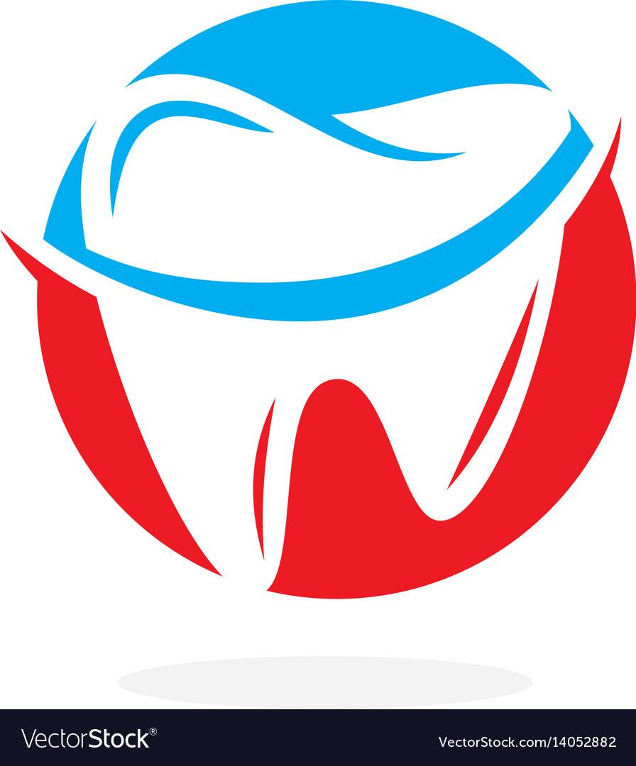 Dentistry odontology stomatology logo