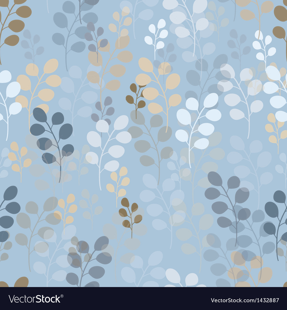 A seamless pattern with branches