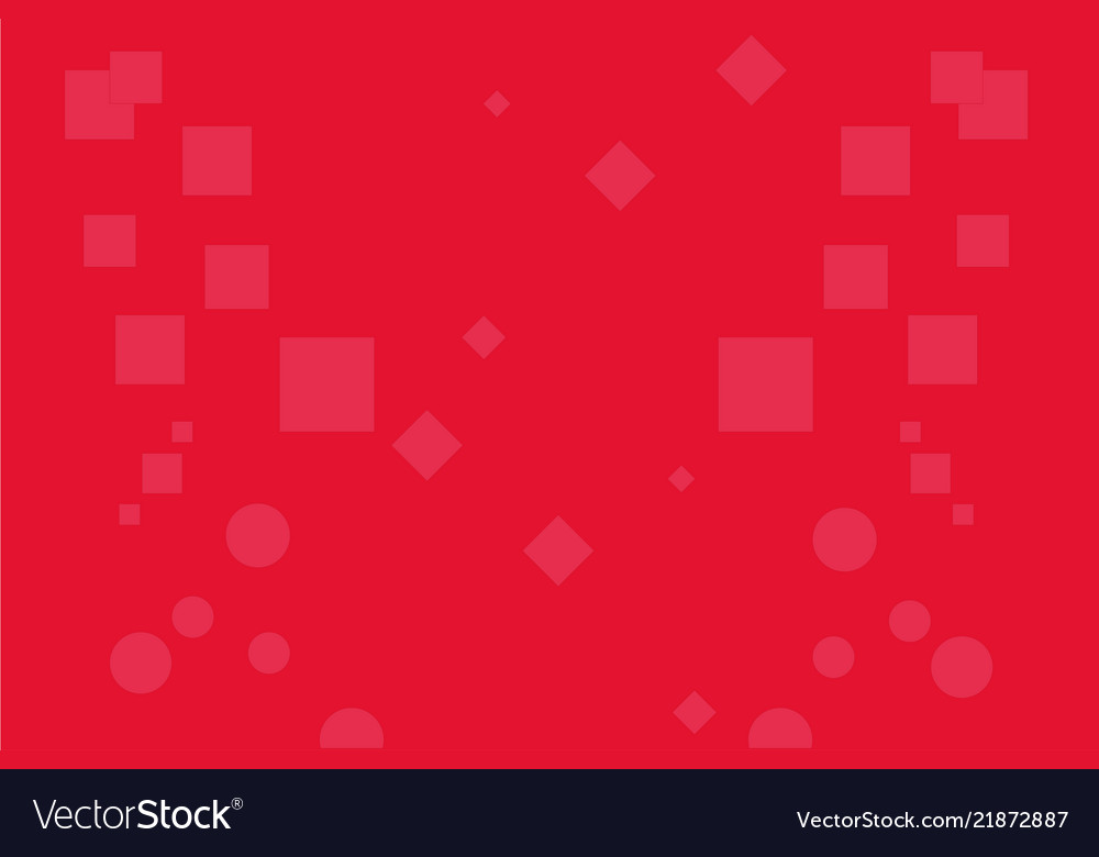 Abstract background red rectangle circle cube bac