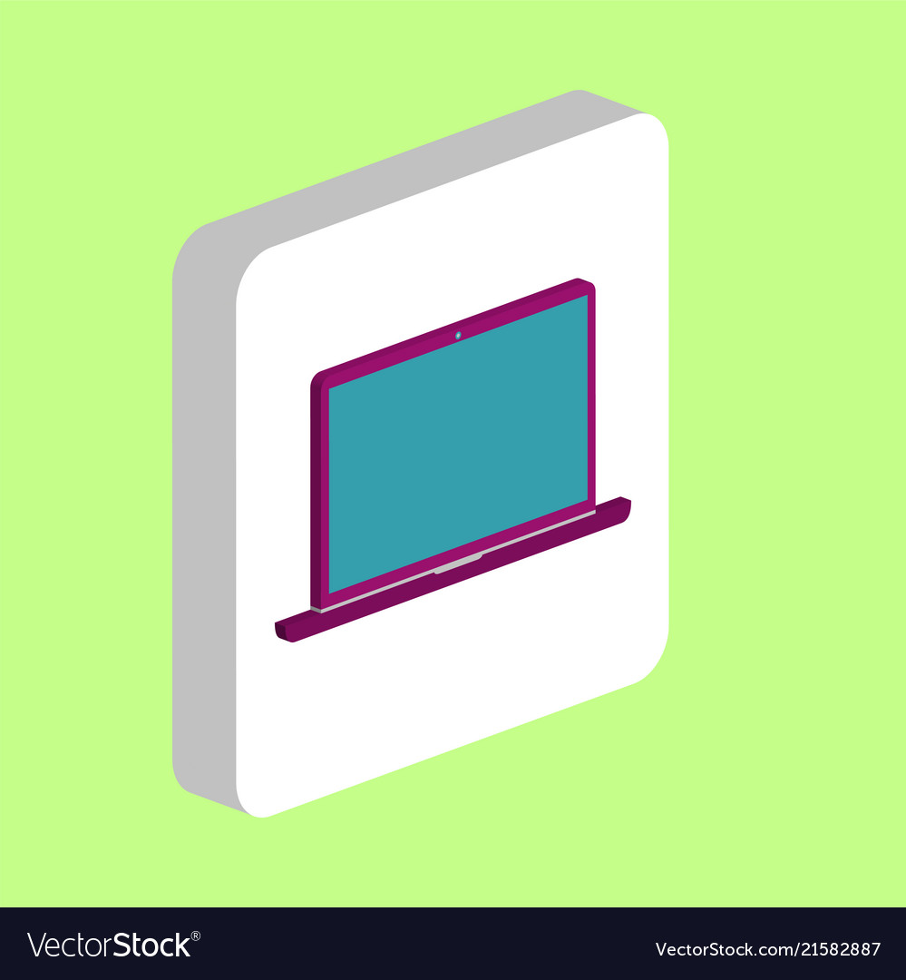 Laptop computer symbol