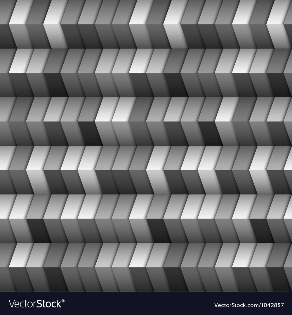 Monochromatic geometric structure vector image
