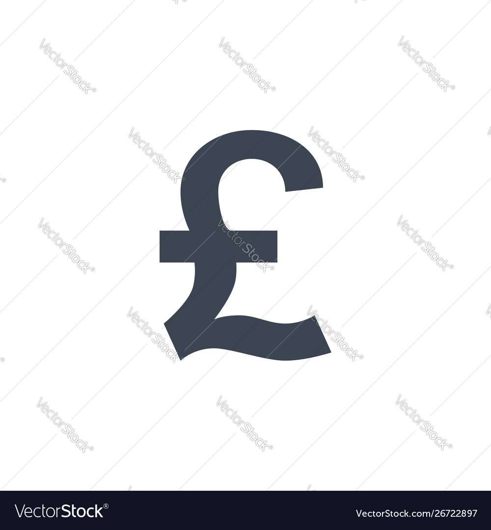 Pound related glyph icon