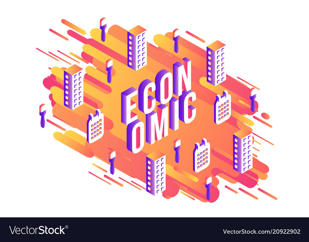 Economic isometric word design with letters and