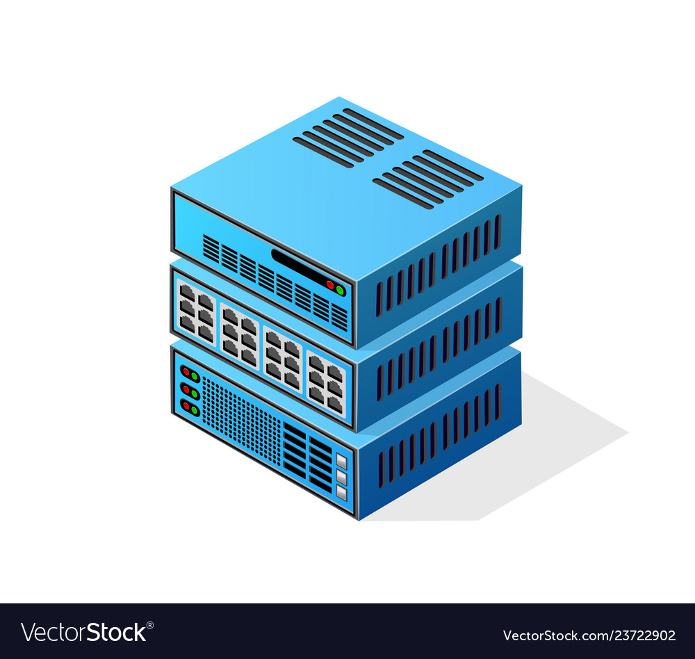 Isometric 3d computer for a crypto